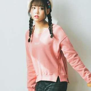 (PO) Pink Harajuku Long Sleeve Sweater