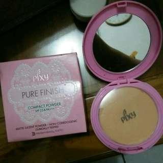 Pixy Compact Powder Pure Finish / Bedak Pixy / Pixy Powder