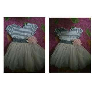 Baby girl dressed