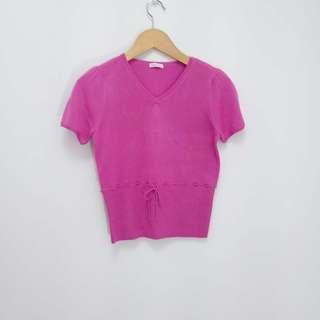 【專櫃品牌】0918短袖針織上衣