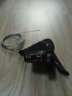 MicroShift 8 speed shifter