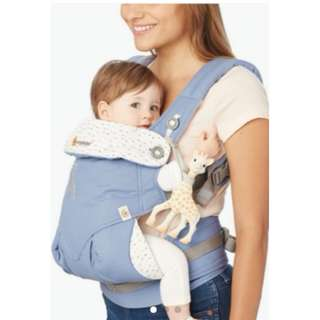 """[CLEARANCE] ErgoBaby Carrier """"360 Four Position"""" Sophie la girafe"""