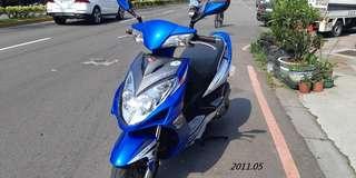 雷霆150 藍銀 原廠 2011.05