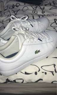 lacoste shoes (need to gone asap