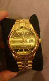 100% authentic Gold Sekonda watch with box