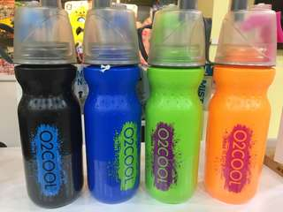 O2COOL Mist n Sip Bottle 20oz