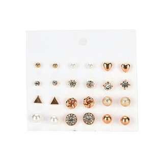 12 Pairs Earring Set