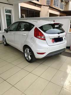 Ford fiesta 1.6 for white for sale