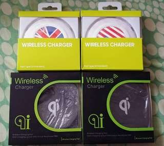 最後一批qi wireless charger buy 3 get 1 free @$50買三送一,每個$50