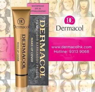 Dermacol makeup cover 高效遮瑕粉底