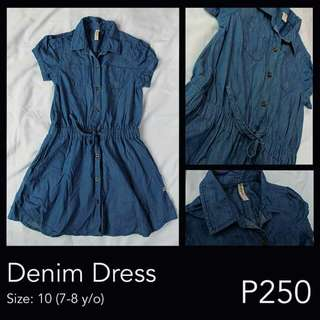 Trendy Denim Dress :)