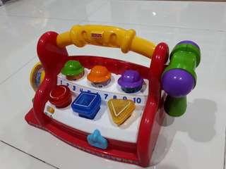 Used Fisher-Price Laugh & Learn Learning Toolbench
