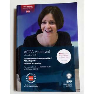 FFA/ ACCA F3 Textbook & Practice and Revision Kit (Original)