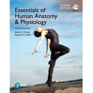 Essentials of Human Anatomy & Physiology Global 12th Twelfth Edition by Elaine N. Marieb, Suzanne M. Keller - Pearson (2017)