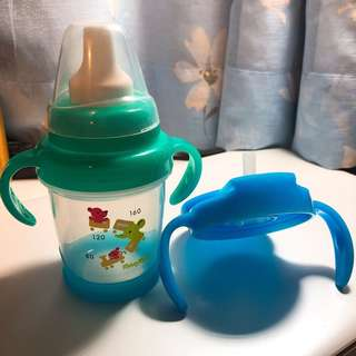日本貝親 阿卡將帶回 莫哭杯 水杯