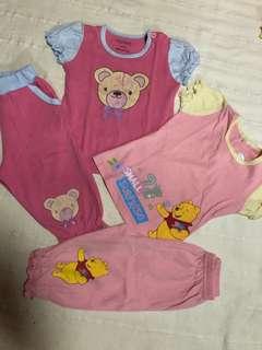 2 sets baby sleepwear