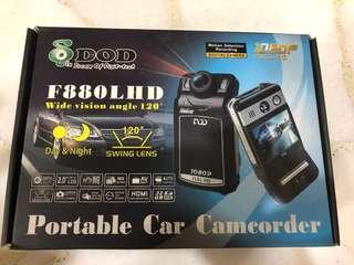 DOD Dream of Digi-Tech F880L Full HD DVR driving recorder camera Blackvue Thinkware iroad morbella surveillance