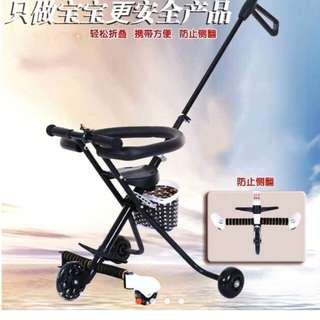 Magic Stroller 5 roda (ada basket)