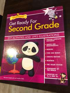 GET READY FOR SECOND GRADE 277 ACTIVITIES AND 1993 ILLUSTRATIONS