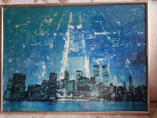 Jigsaw puzzle 500 pcs Skyline by night