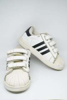 Adidas Superstar sz 25