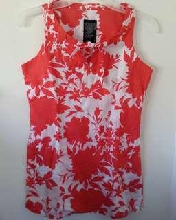 Bayo floral sleeveless top