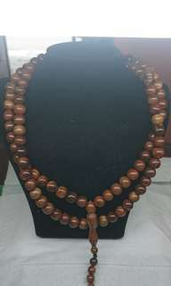 kokka Wood Necklace/Tasbih