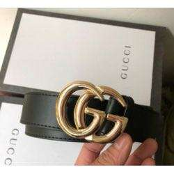 BRAND NEW GUCCI BELT GOLD AND BLACK S M L PREORDER