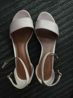 Charles and Keith block heels