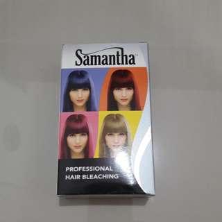 Bleacing rambut by samantha