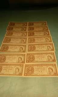 新直版香港壹分錢14張