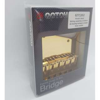 Gotoh GTC202 Guitar Bridge - Gold