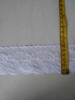 White lace by meter