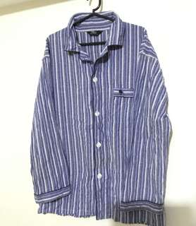Ralph Lauren Polo Blue Men's Pajama Top Size Large