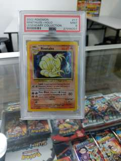 First batch of Pokemon PSA cards