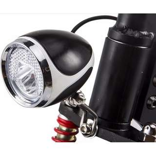 stock headlight with built in horn for speedway / oem / futecher / ultron