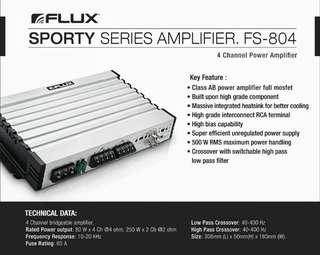 FLUX Sporty FS-804 Amplifier Dekit Sales