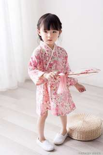 ⭐️[Ready stock] Girl Dress in Japanese Kimono style