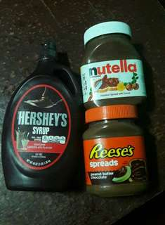 Chocolate spread/syrup BUY 3 FOR 1,300