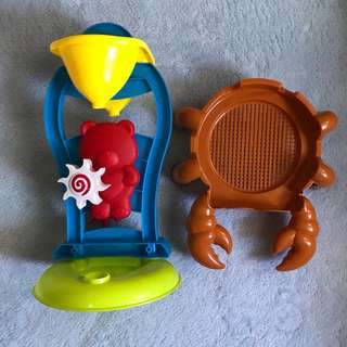 Preloved Sand Toys