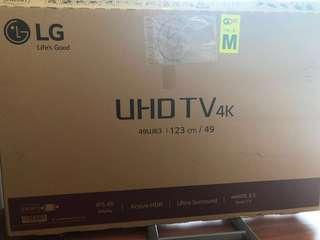 "49"" LG SMART 4K TV"