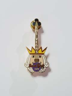 Las Vegas Hard Rock Cafe Guitar Pin, Collectible