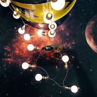 🌲 LED 歐美經典復古燈泡球燈串