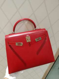 Hermes kelly 32 epsom no strap