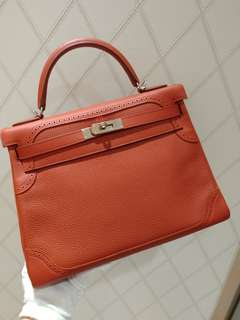 Hermes kelly 32 ghillies