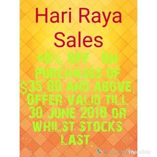 Hari Raya Sales