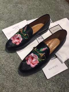 Gucci floral embroidered loafers Shoes