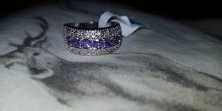 "Sterling Silver ""Serenity"" ring"