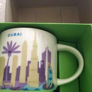 Brand new Starbucks Dubai and united arab collectible mugs