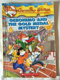 Geronimo Stilton Geronimo and the Gold Medal Mystery